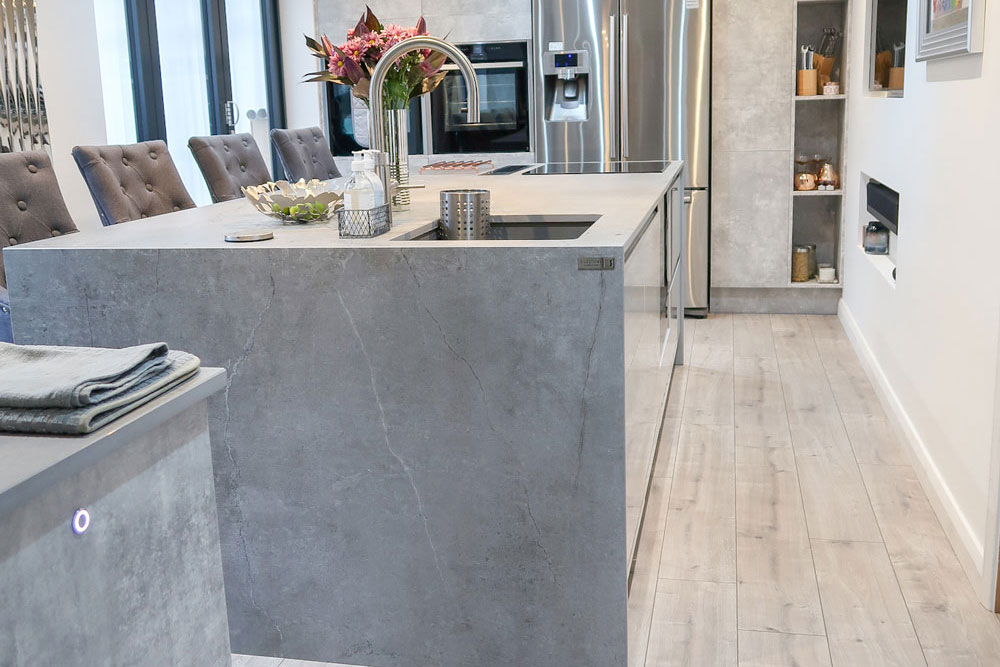 Dekton Soke (cabinetry by Astley Kitchens)