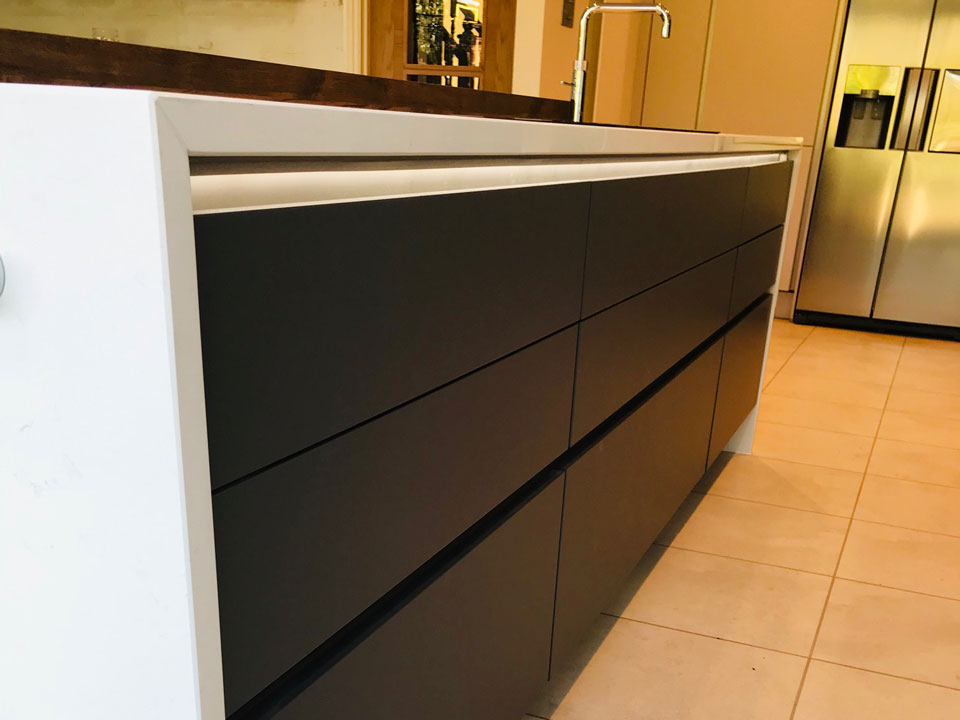 Silestone Ariel (cabinetry by K Interiors)